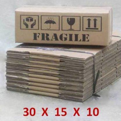 cardboard box 30 x 15 x 10 cm